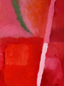 Roter Farbklang by Lutz Baar