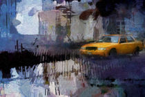 Yellow Cab by Lutz Baar