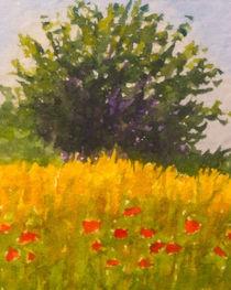 Mohnblumen - Poppies Field von Lutz Baar