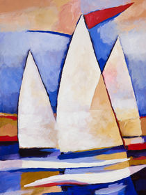 Segelsommer - Summer Sailing by Lutz Baar