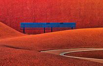 Bank im roten Bereich by Harald Kraeuter