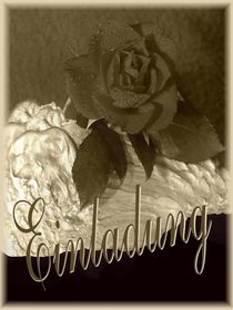 Einladung Rose by Angela Parszyk