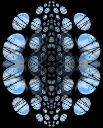 Blaues Treiben by Angela Parszyk