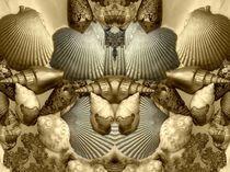 Shell in Art -Sandburg von Angela Parszyk