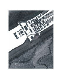 architectural landscape I by Hartmut Schlomm