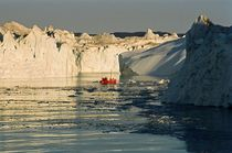 Between Icebergs - Greenland by Juergen Weiss