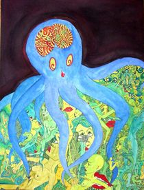 Octopussys Garden by Alice Harnisch