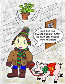 Prosit Neujahr! by Ingrid Besenböck