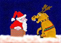 Weihnachtsmann in Not by Ingrid Besenböck