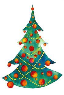 Weihnachtsbaum von farbart