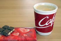 Kaffee mit Schokolade von edler