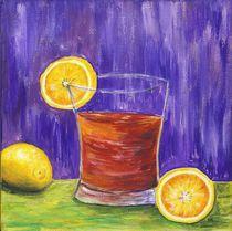 Stillleben mit Zitronen by Caroline Lembke
