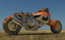 Exploding Bike2 von Chaitanya Krishnan