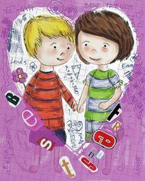 Emma und Louis - flieder by Anna Eckert