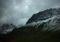 Wolken und Gebirge