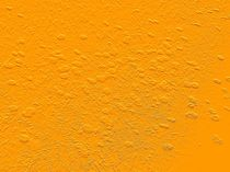 Blumenrelief in Orange von mondschwester