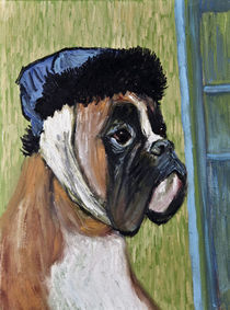 Vincent van Dog The Boxer by Robert Georg Günther