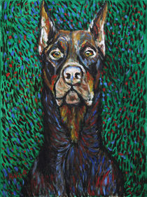 Vincent van Dog The Doberman by Robert Georg Günther