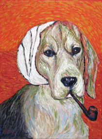 Vincent van Dog The Beagle by Robert Georg Günther