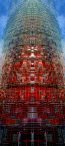 Torre Agbar by k-h.foerster _______                            port fO= lio
