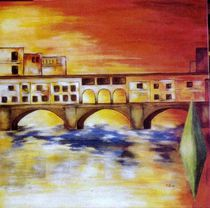 Firence Ponte vecchio by Brigitte Hohner