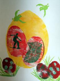 Die Balance halten - Frohe Ostern by annas