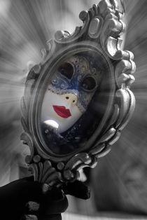 Die Maske im Spiegel von Dagmar Bittner