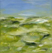 Blaue Ebene I von Bettina Malinowski