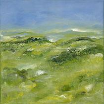Blaue Ebene II von Bettina Malinowski