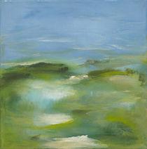 Blaue Ebene III von Bettina Malinowski