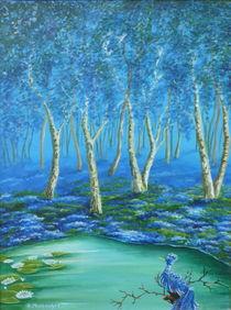 Der blaue Vogel von Helga Mosbacher