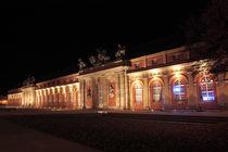 Potsdamer Marstall bei Nacht by rotschwarzdesign