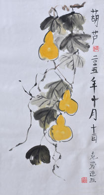 Chinesische Kürbisse by Claudia Janßen