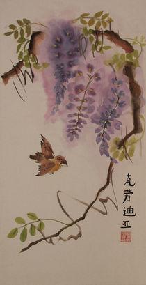 Einsames Vögelchen by Claudia Janßen