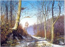 Waldweg by Ernst Thupten Dawa Neuhold