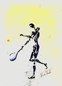 Tennis 4 by Theodor Fischer