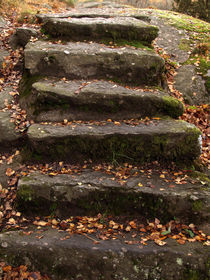 Steintreppe by fotokunst