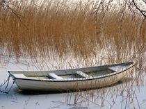 Gefrorenes Boot by fotokunst