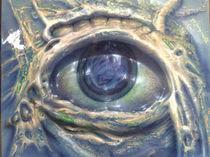 Auge blau by andreas hella