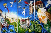 Sie erwacht aus einem Traum...... von Ilona Betker