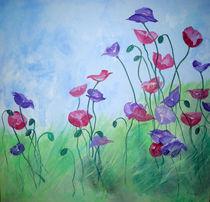 Blumenwiese von Walli Gutmann