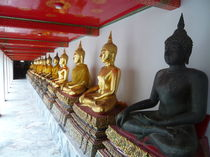 Buddha nebst Buddha I von Alwin Mücher