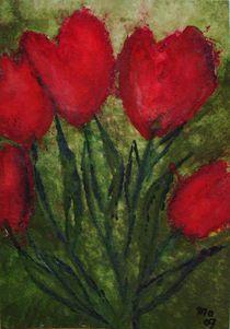 Tulpen im roten Kleid by mo08