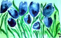 Tanz der blauen Tulpen by mo08