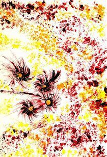 Llying Petals © KatKaciOu by Katrin KaciOui