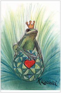 Frosch Liebe  by Katrin KaciOui