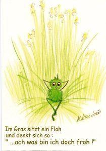 Ein Floh  by Katrin KaciOui