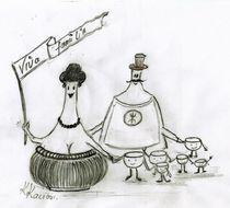 Weinprobe oder Viva Familia  by Katrin KaciOui
