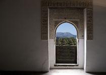Fenster Alhambra von Michael Guntenhöner