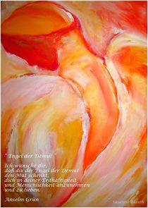 Engel der Demut  (November 2011) von Susanne © Blauth
